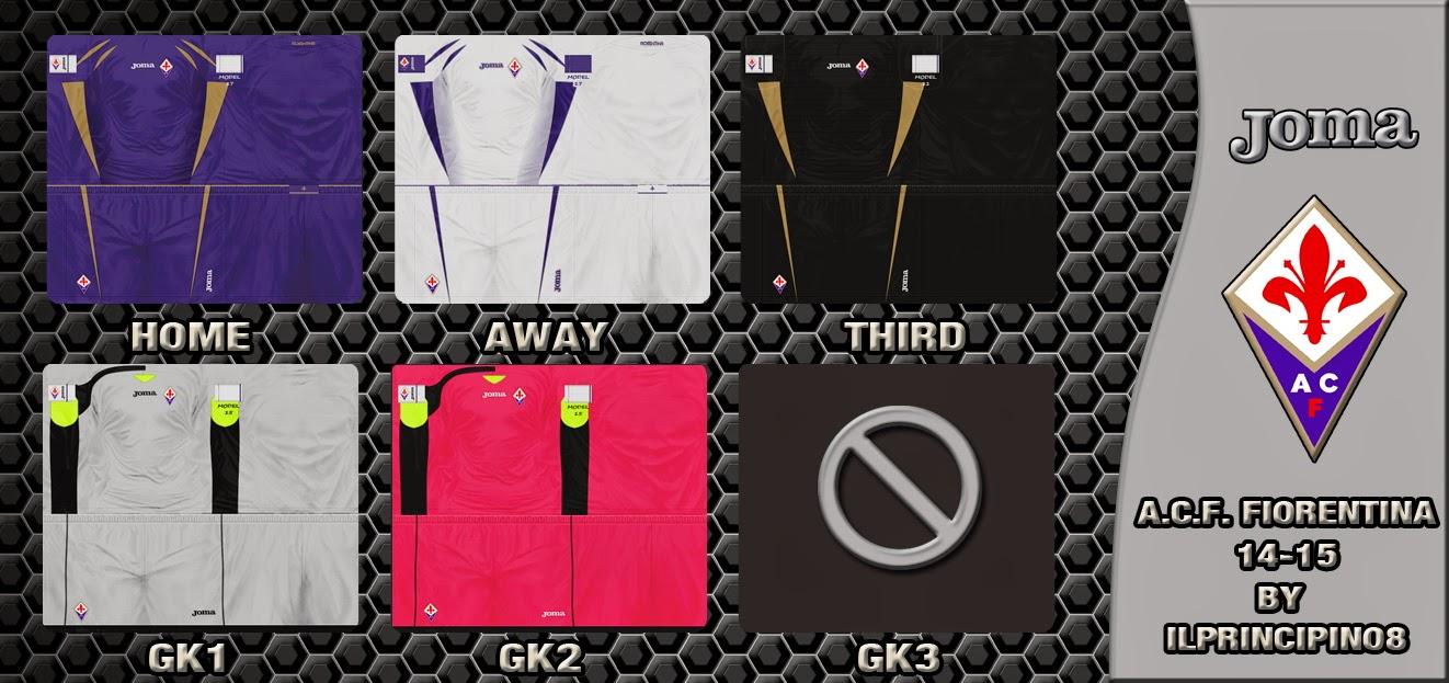 PES 2013 A.C.F. Fiorentina 2014-2015 GDB by ILPrincipino8