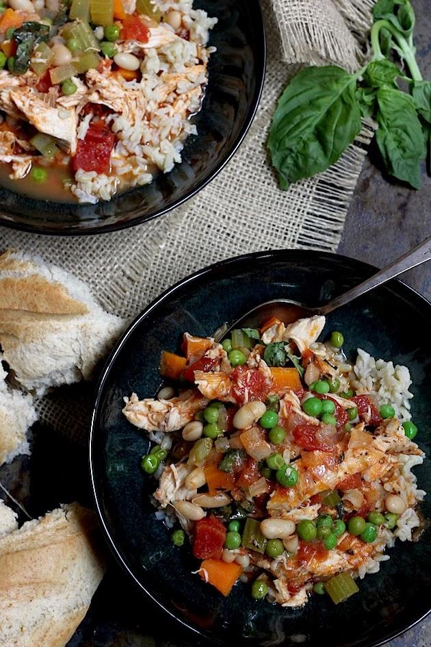Weeknight Meal: One Pot Chicken Stew