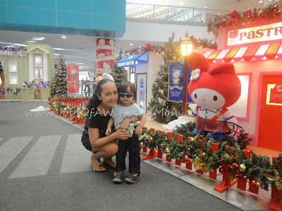 Sanrio-Themed Christmas Village At SM The Block