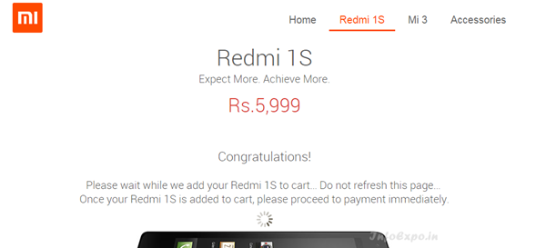 How to buy Xiaomi Redmi 1S, Which gets out of stock in seconds
