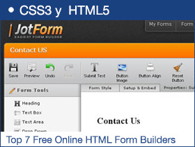 Top 7 Free Online HTML Form Builders
