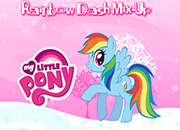 juegos my little pony rainbow dash mix up