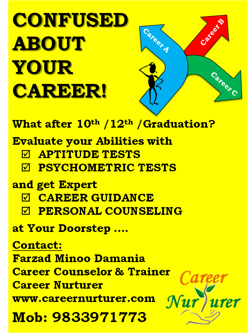 Career Counselling and Aptitude Testing Mumbai