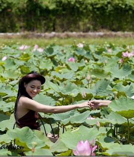 Thai nha van lo nhu hoa 012 Trọn bộ ảnh Thái Nhã Vân lộ nhũ hoa cực đẹp