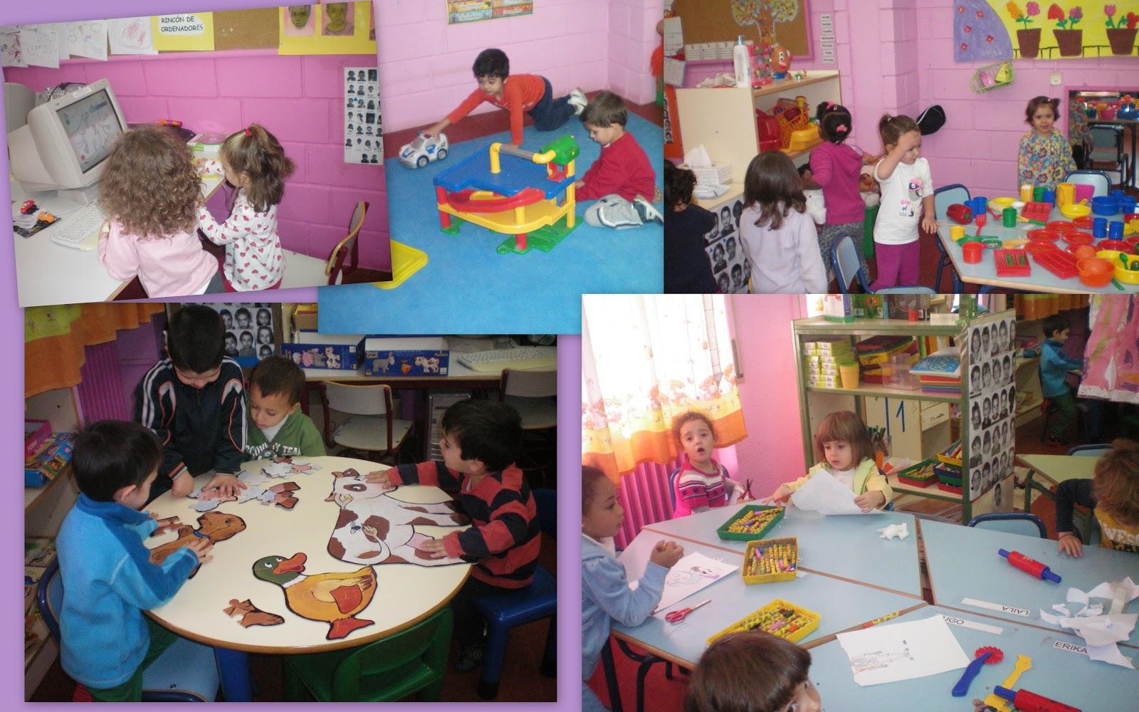 Blog de 3 del meseta de orcasitas rincones de trabajo for Decoracion de espacios de aprendizaje