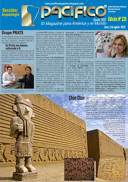 Revista Pacífico Nº 235 Arqueología