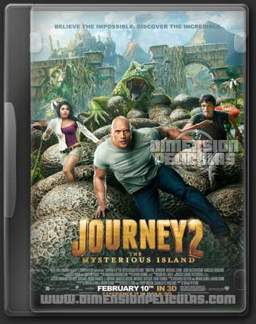 Viaje al centro de la Tierra 2: La isla misteriosa (BRRIp HD Inglés Subtitulado) (2012)