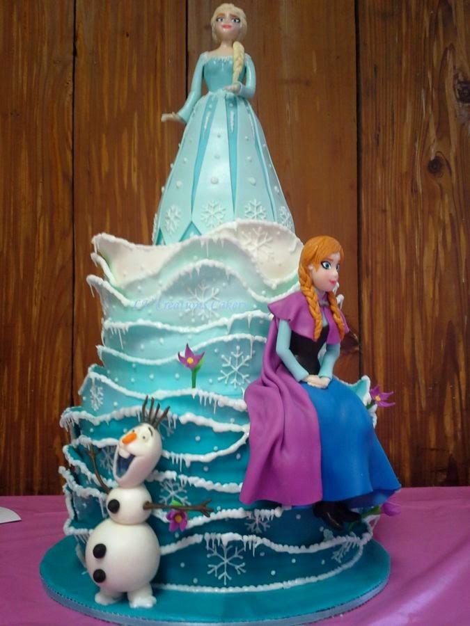 Tortas Decoradas de Frozen la Película