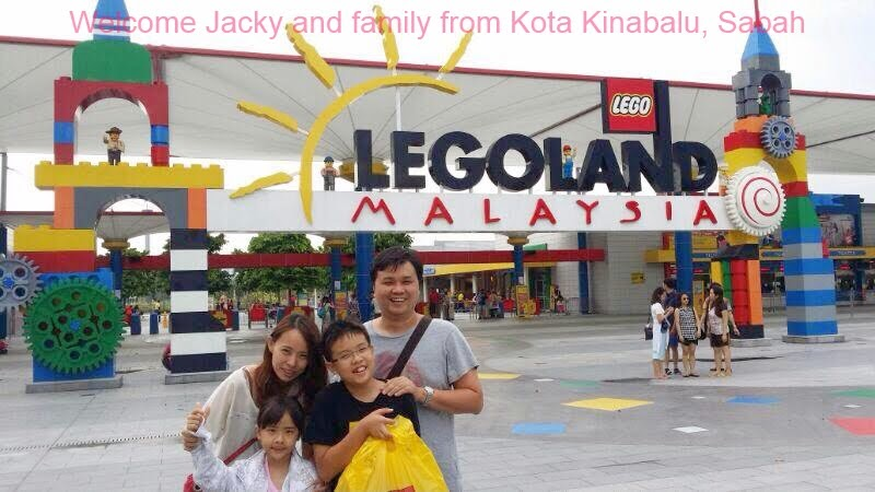 I am going to Legoland !