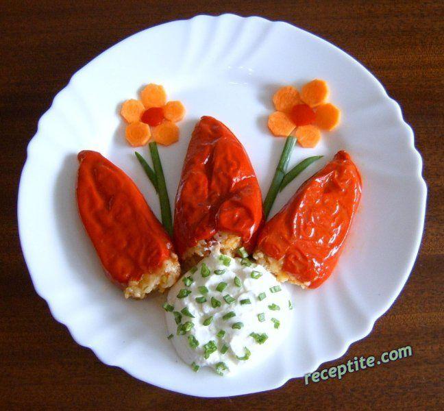 болгарская кухня перец