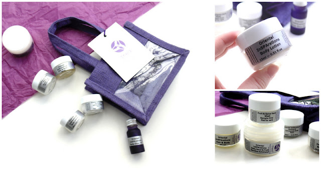thea skincare oriental insparations range