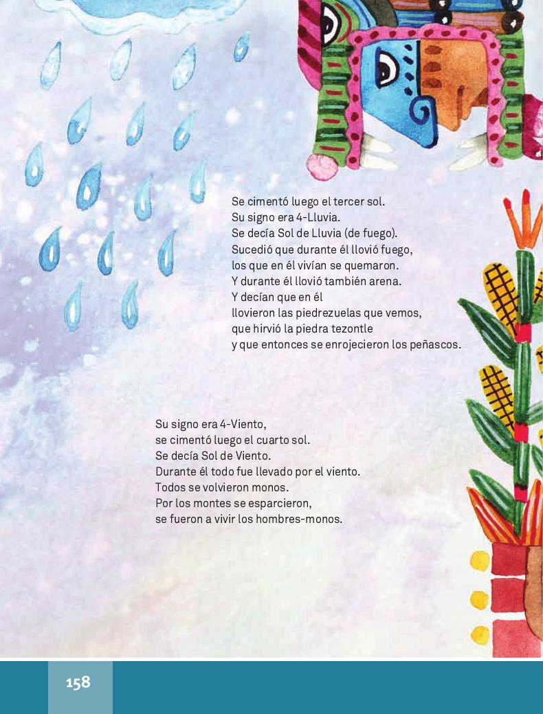 Los cinco soles - Español Lecturas 4to 2014-2015