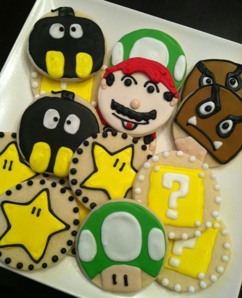 Sweet Treats by Susan: Super Mario Brothers Cookies