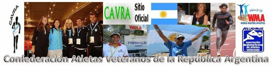 CAVRA Pagina oficial Atletismo Master Argentino