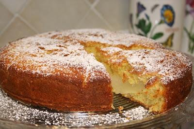 torta con le pere