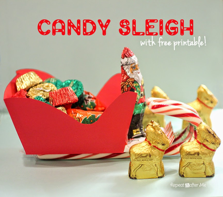 Repeat Crafter Me: Candy Sleigh