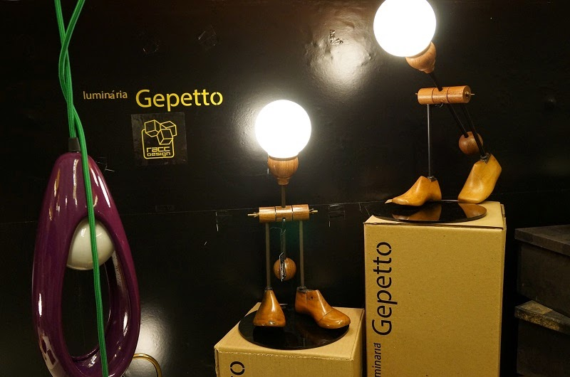 Luminária Geppeto da Racc Design - Feira Rosenbaum Especial Mães