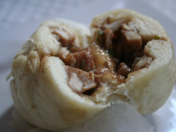 Chicken Baozi (Chicken Steamed Buns, aka Pao)