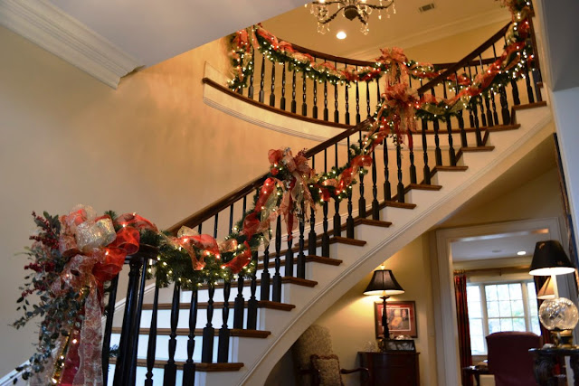 christmas staircase ideas