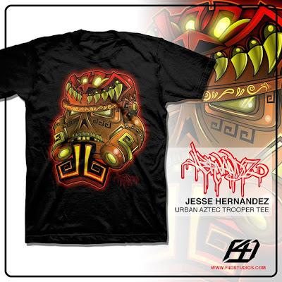 """Star Wars """"Urban Aztec Trooper"""" T-Shirt by Jesse Hernandez x F4D Studios"""