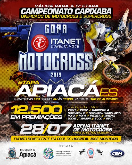 COPA ITANET DE MOTOCROSS APIACÁ 2019