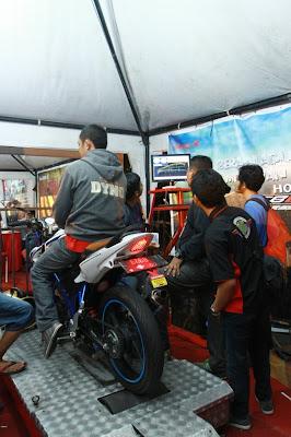 Pakai Dynamometer, Tenaga Honda CB150R Paling Gede!