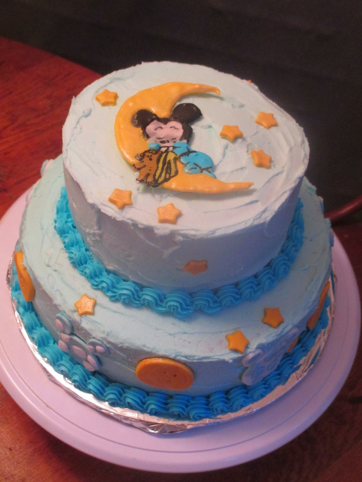 A s Cakery Baby Mickey Mouse Cake