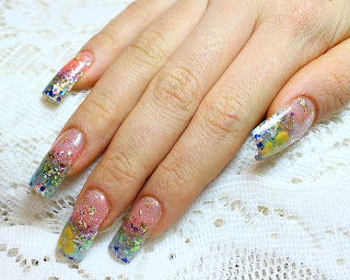 fancy acrylic extensions