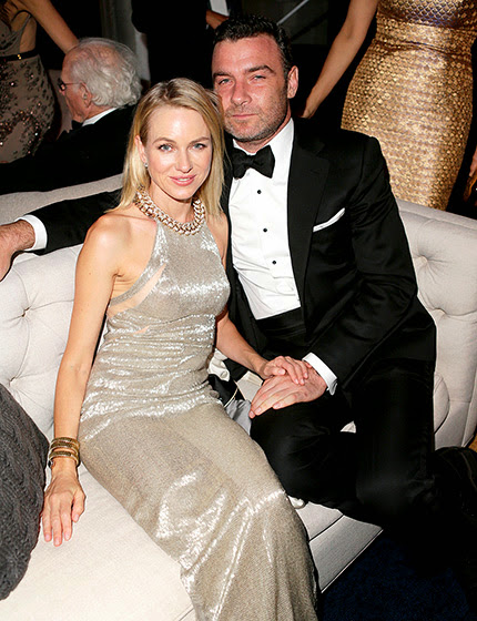 Naomi Watts and husband Liev Schreiber
