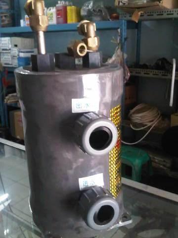 Evaporator cooler Titanium tahan air laut,air garam dll
