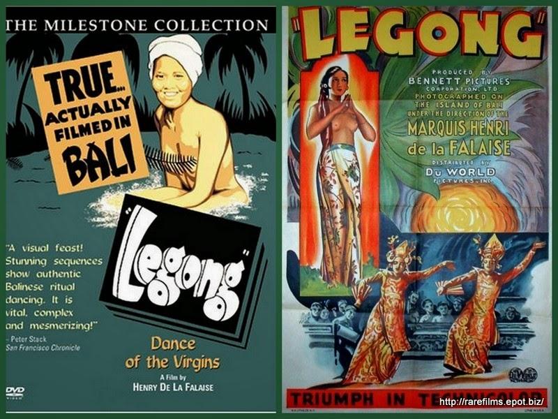 Легонг: Танец девственниц / Legong Dance of the Virgins. 1935.