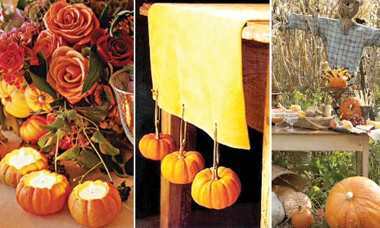 Pumpkin Wedding Decoration Ideas