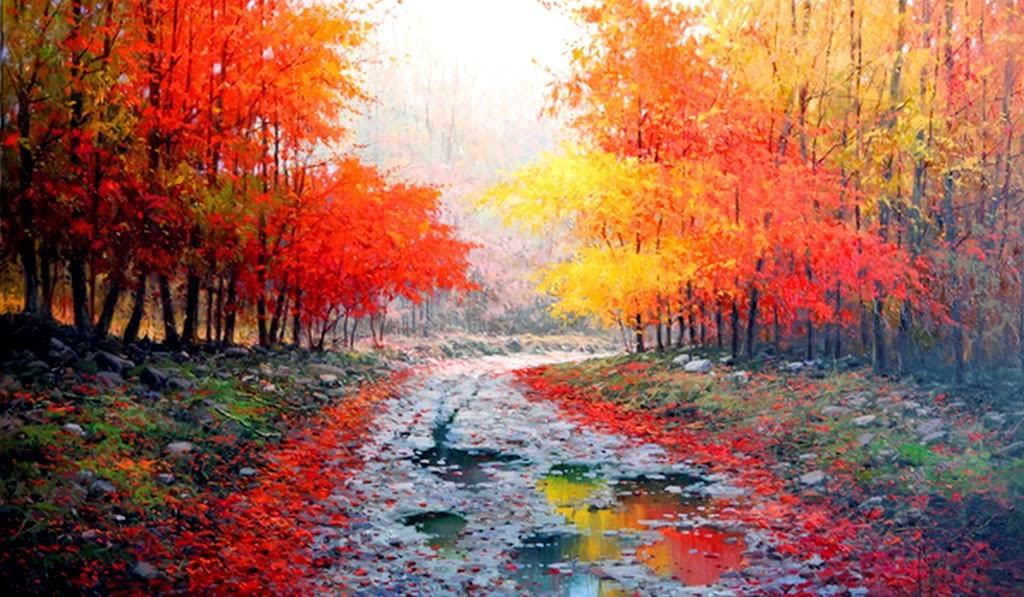 Cuadros pinturas oleos cuadros al leo paisajes - Oleos decorativos ...