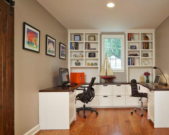 Hogares frescos 40 ideas para dise ar tu oficina en casa for Oficinas chicas