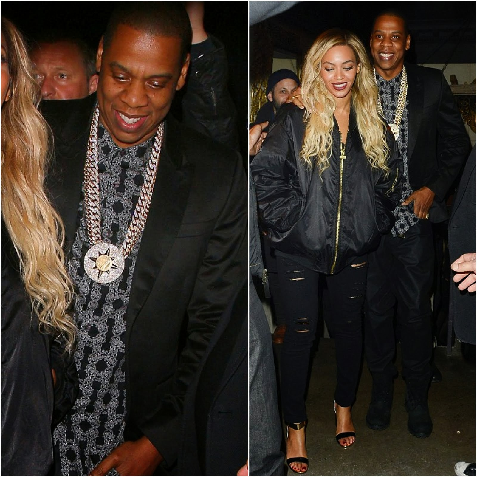 Jay Z in Topman - Mason House, London