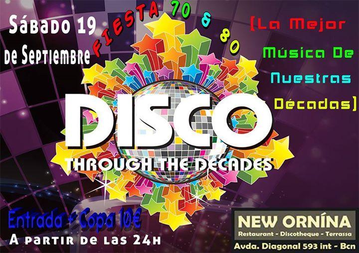 Flyer Fiesta 70's & 80's