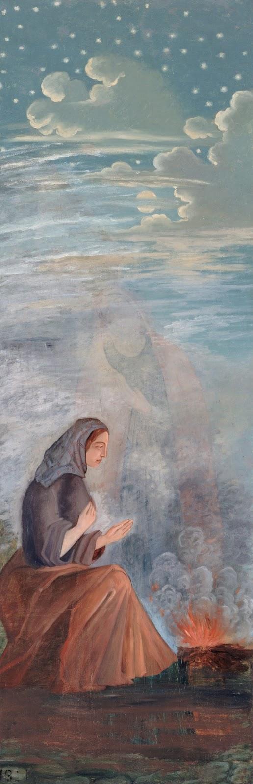 Paul Cézanne ~ The Four Seasons -Winter, 1861
