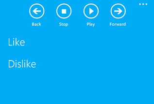 CommandBar extendida en Windows Phone 8.1