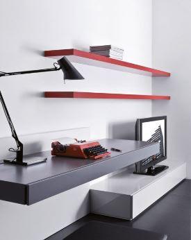 Soggiorno con angolo studio pescara loves fashion for Muebles de oficina italianos