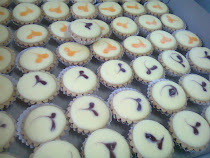 Baby cheese tarts...min ode 50bj