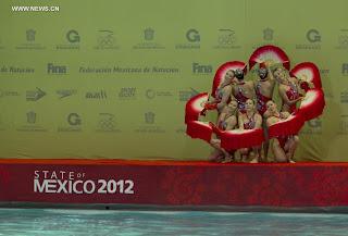 NATACIÓN SINCRONIZADA-World Trophy México 2012