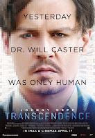 Transcendence 2014 movie poster malaysia - johnny depp