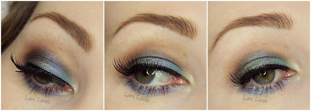 Darling Girl Haircut Anyone?, Blending is the Secret eyeshadow swatches & review