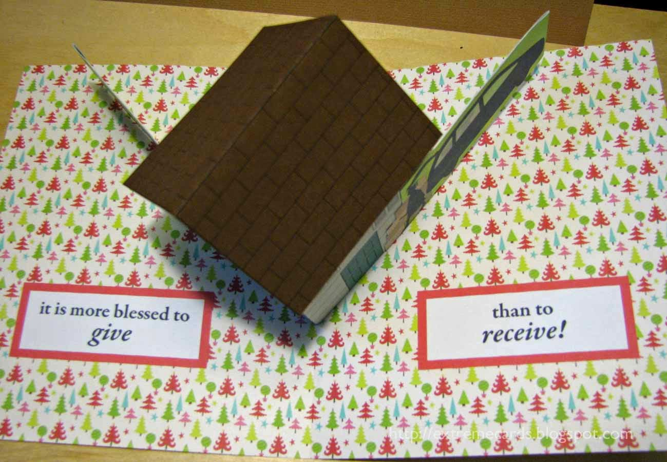 extreme pop up card