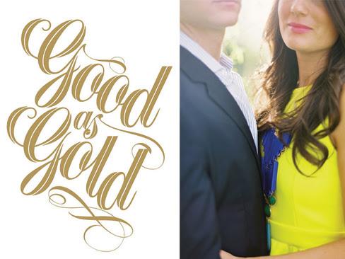 Type + Fashion: Good as Gold