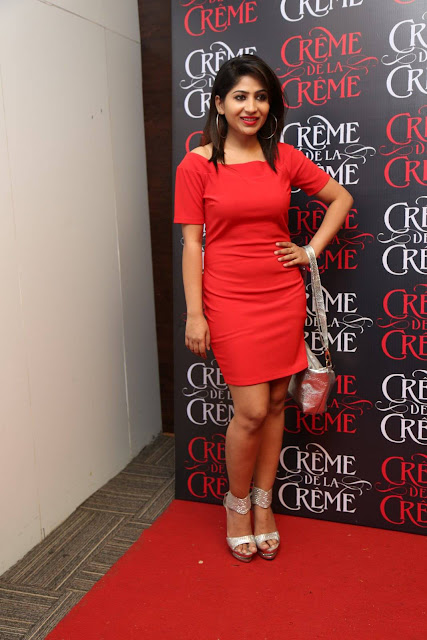 Actress Madhulagna Das Latest Photos In Creme De La Creme 1st Anniversary