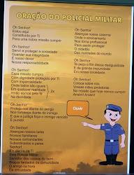 ORAÇÃO DO POLICIAL MILITAR