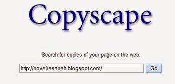 atasi pencuri artikel dan tukang kopi paste artikel anda dengan copyscape