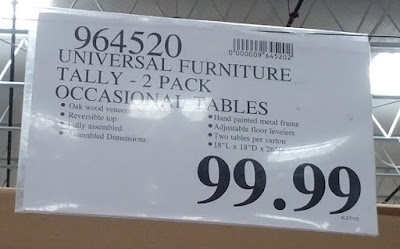 Deal for the Universal Furniture Broadmoore Tally Occasional Tables at Costco