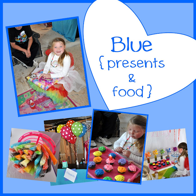 Rainbow Activities {presents & food}